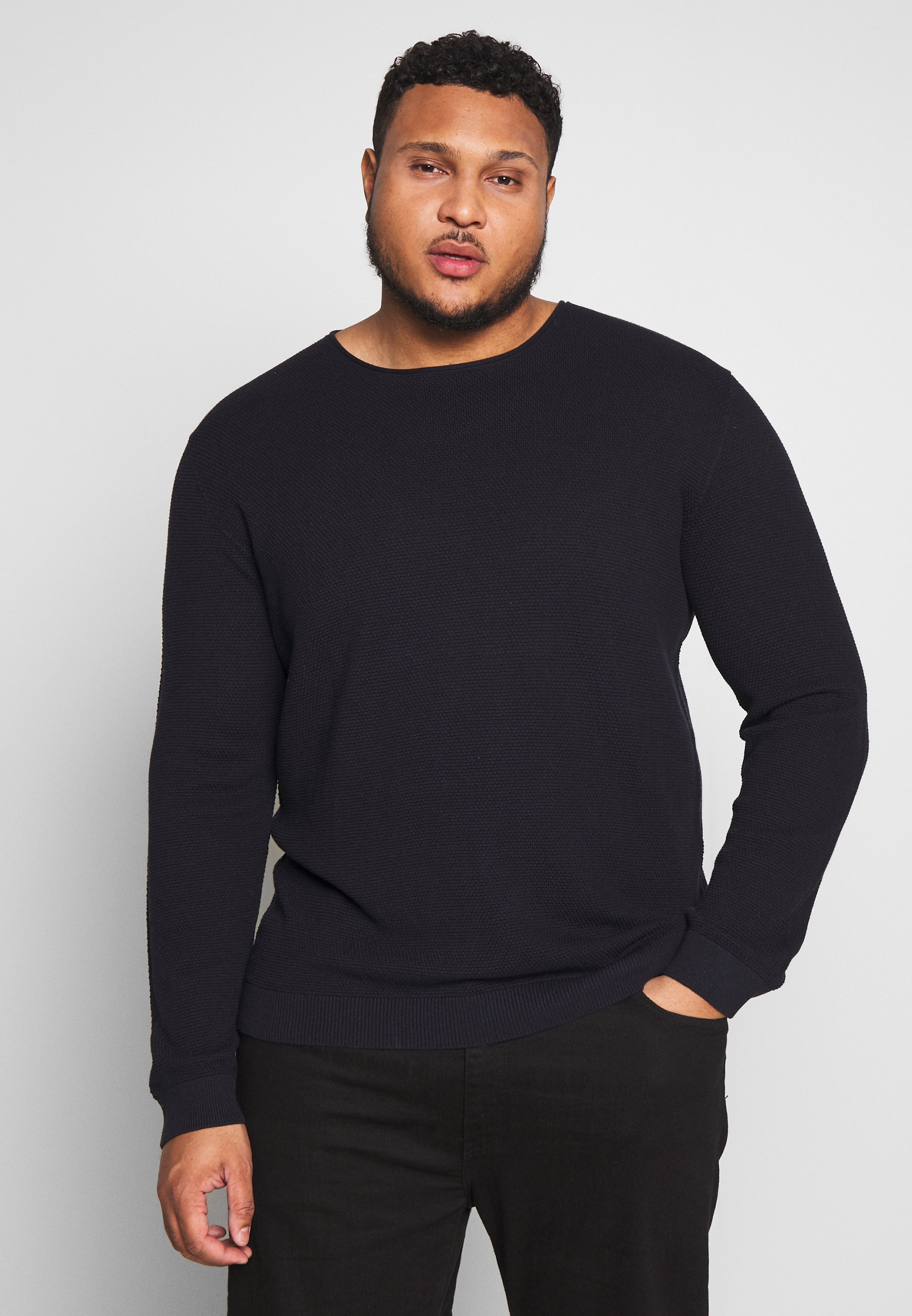 Homme SLHROCKY CREW NECK  - Pullover