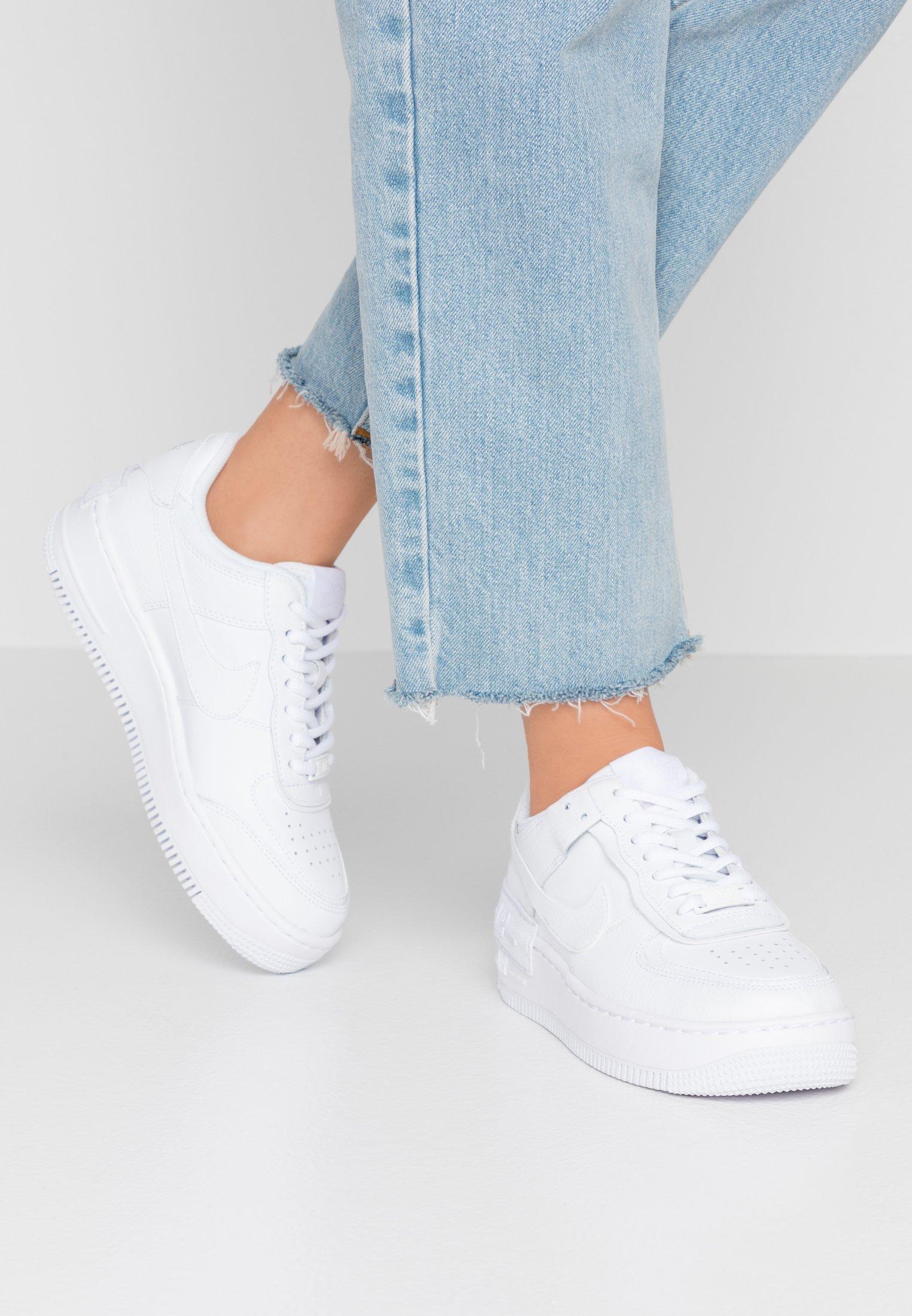 Nike Sportswear Air Force 1 Shadow Zapatillas White Blanco Zalando Es Nike air force 1 '07 se 女子運動鞋. air force 1 shadow zapatillas white