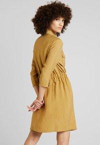 mbyM - HENRIETTA - Shirt dress - dijon - 2