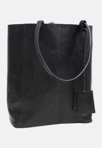 Gusti Leder - Shopping bag - black - 2