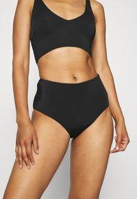 Weekday - AVA HIGHWAIST SWIM BOTTOM - Bikini bottoms - black - 0