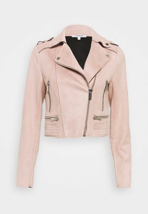 GRAMMY - Faux leather jacket - vieux rose