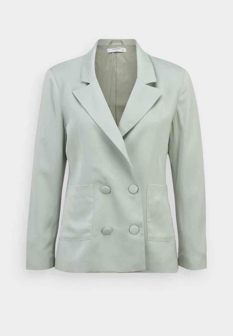 Glamorous Petite - OVERSIZED WITH PATCH POCKETS - Blazer - misty sage
