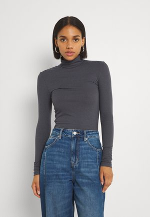 PCPIPPI ROLLNECK - Long sleeved top - ombre blue