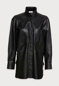 DAY Birger et Mikkelsen - DAY SKIN - Leather jacket - jet black - 4