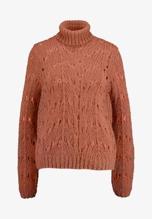 VIKNITA KNIT - Jersey de punto - copper brown