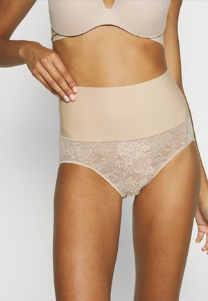 TAME YOUR TUMMY SHAPING BRIEF FIRM CONTROL - Shapewear - nude lace