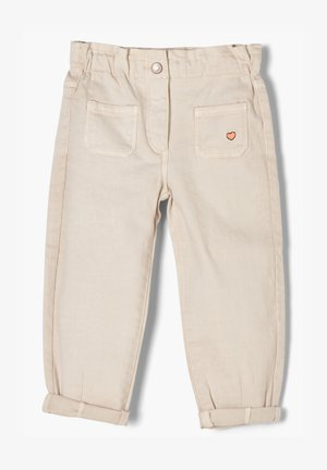 REGULAR FIT - Relaxed fit jeans - beige