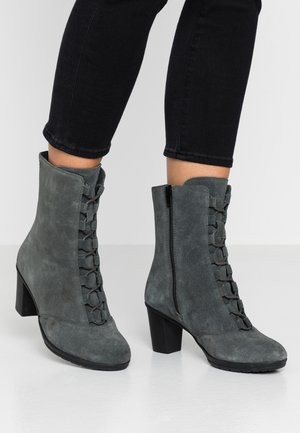 MORES - Snørestøvletter - dark grey