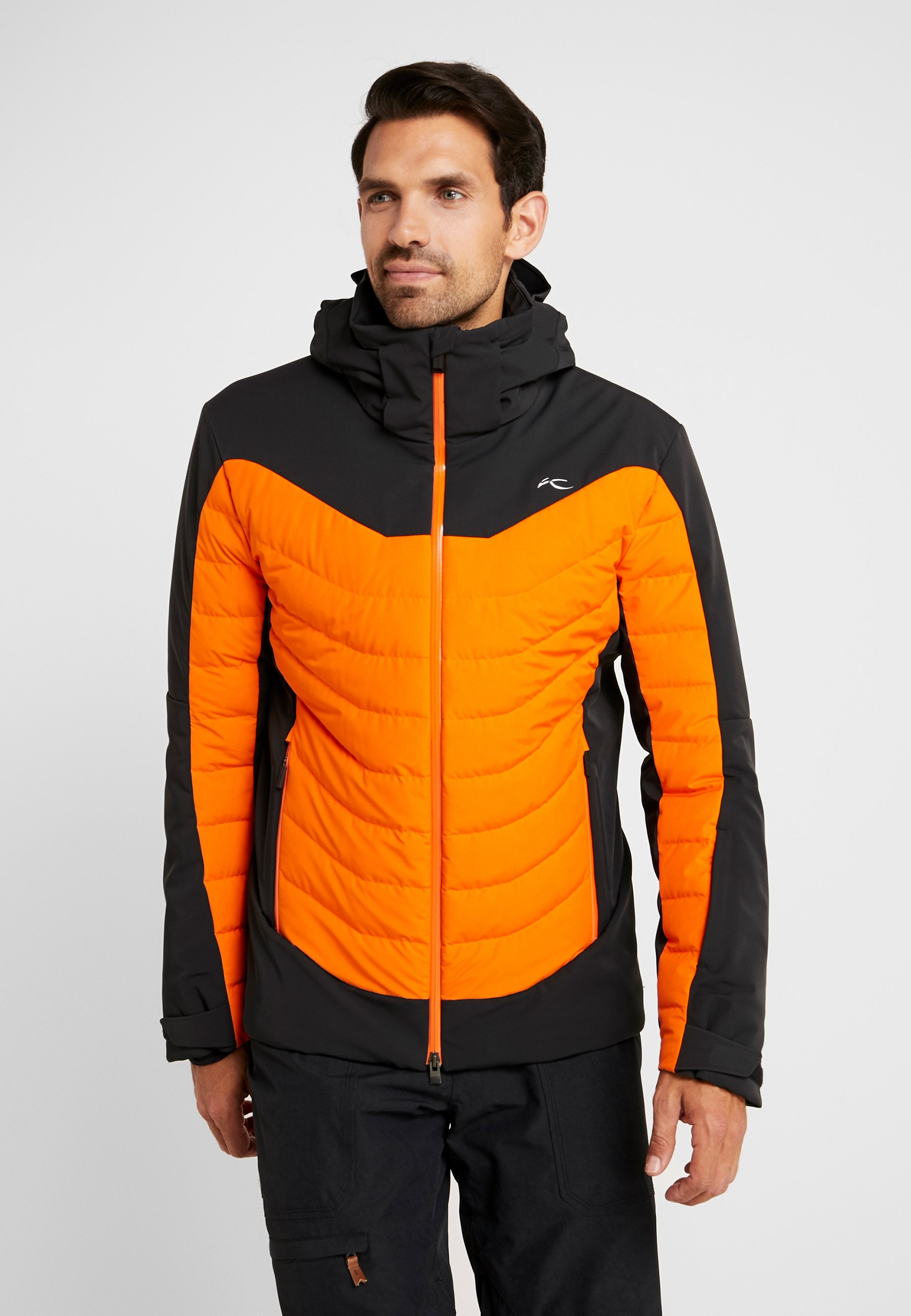 KJUS Sight Line Jacket(M) BlackKjus Orange | Hemsedal Sport