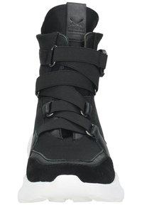 Sansibar Shoes - Korkeavartiset tennarit - schwarz - 5