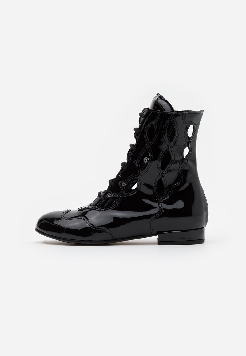 Marni - Lace-up ankle boots - black