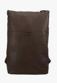 Zign - UNISEX LEATHER - Reppu - dark brown - 6