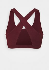 Cotton On Body - WORKOUT CUT OUT CROP - Light support sports bra - mulberry - 7
