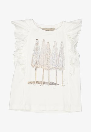 UMBRELLAS - Print T-shirt - ivory