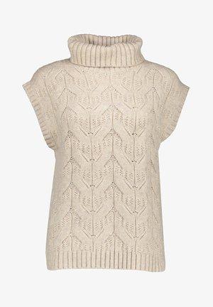 SPENCER COL - Print T-shirt - beige