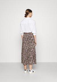 JDY - JDYURBAN MIDCALF SKIRT - A-line skirt - black/multicolor - 2