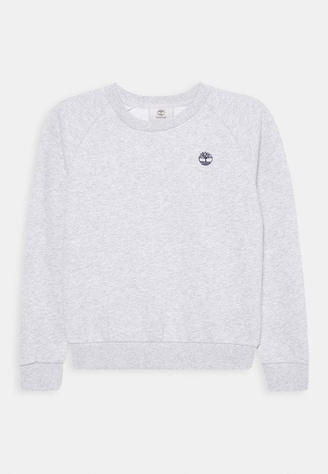 Sweater - chine grey