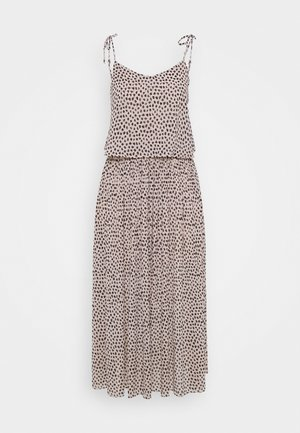 CHESNEY PLEATED MIDI - Maxi dress - brown pattern