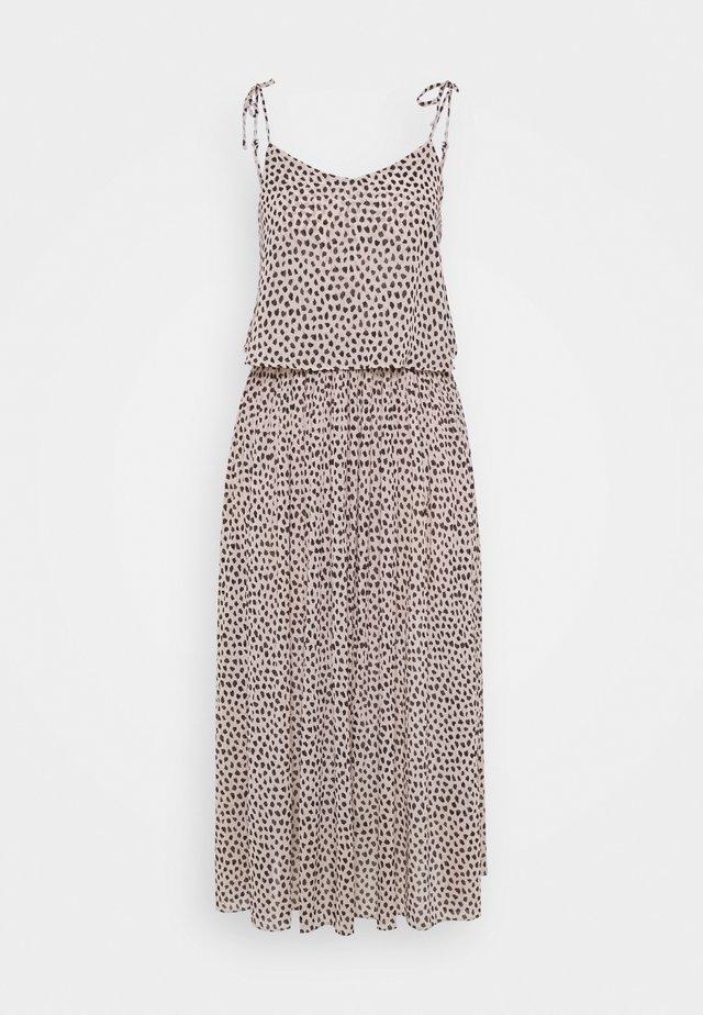 CHESNEY PLEATED MIDI - Maxi dress - brown pattern
