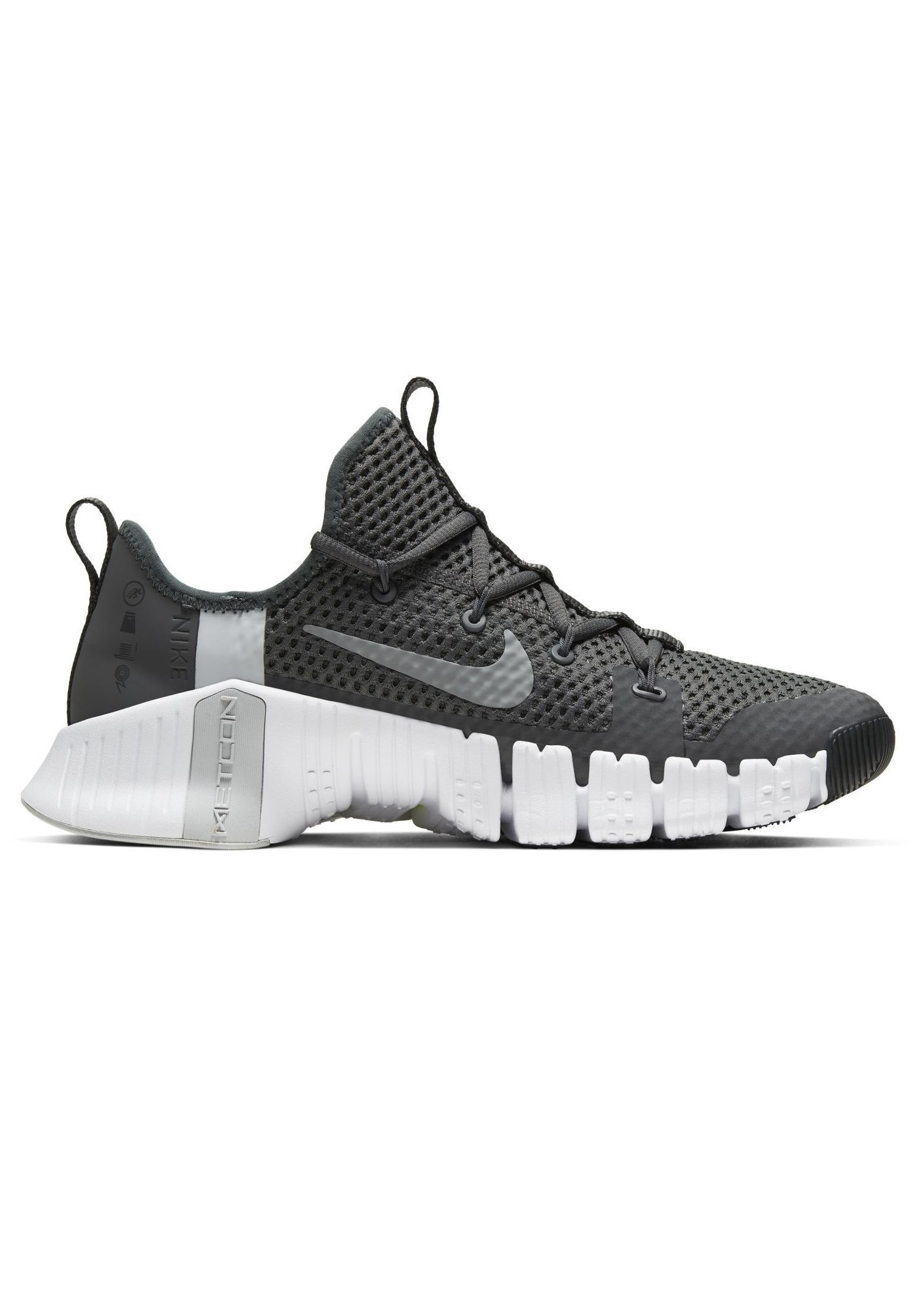 nike performance metcon 3 trainings fitnessschuh grau