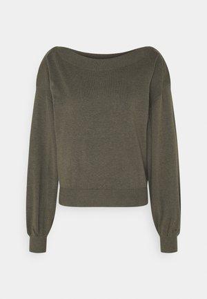 ONLCOZY - Pullover - kalamata melange