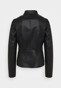 ONLY Tall - ONLMELISA JACKET  - Faux leather jacket - black - 1