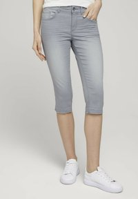 TOM TAILOR - ALEXA  - Jeans Skinny Fit - clean light stone grey denim - 0