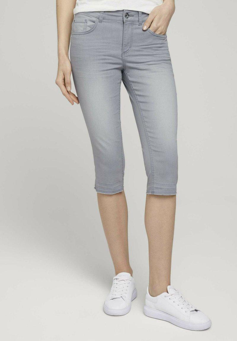 TOM TAILOR - ALEXA  - Jeans Skinny Fit - clean light stone grey denim
