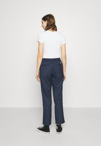 Tommy Jeans - PINSTRIPE PANT - Trousers - twilight navy/white - 2