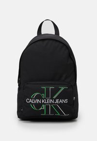 Calvin Klein Jeans - CAMPUS GLOW UNISEX - Batoh - black - 0