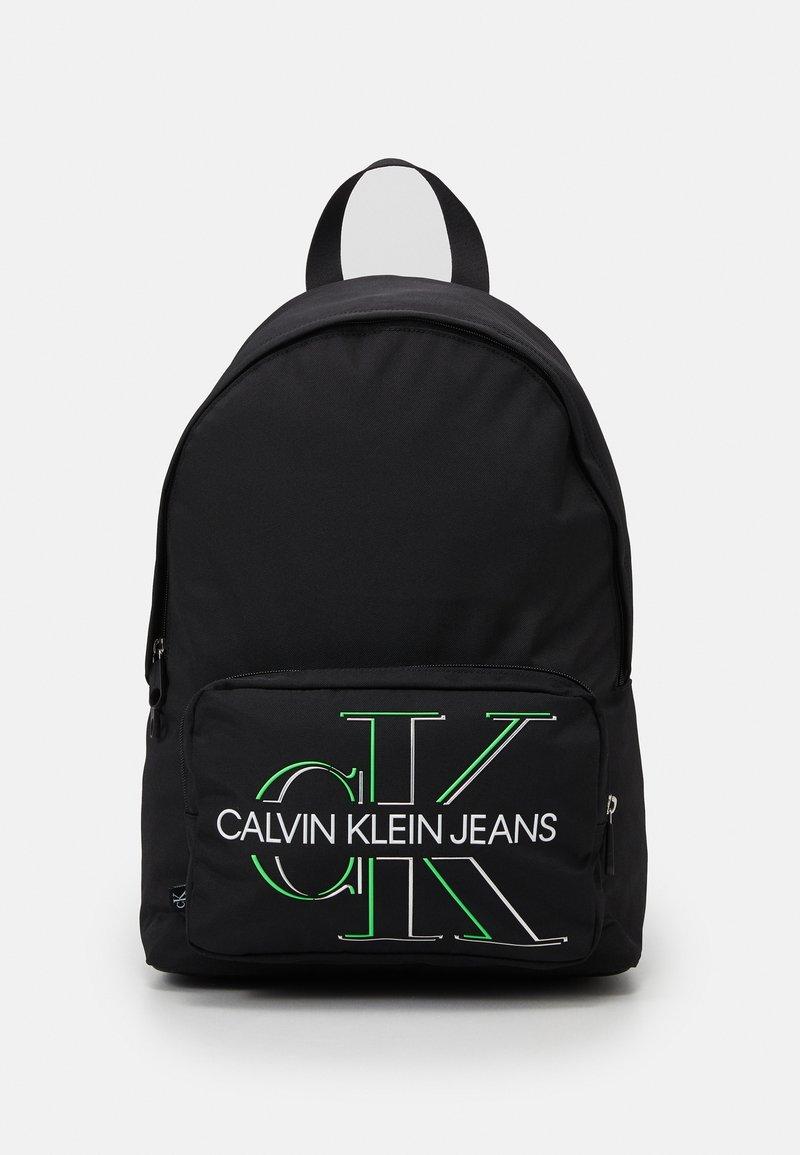 Calvin Klein Jeans - CAMPUS GLOW UNISEX - Batoh - black