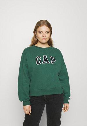 DROP - Sweatshirt - bistro green