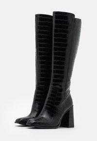 CAFèNOIR - High heeled boots - nero - 2