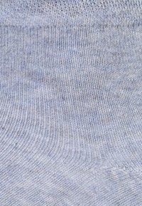 camano - BOX 7 PACK - Ponožky - denim melange/stone melange/navy - 3