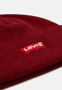 Levi's® - RED BATWING EMBROIDERED SLOUCHY BEANIE - Beanie - dark bordeaux - 2