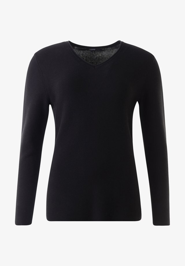 HOLLY - Sweatshirt - schwarz