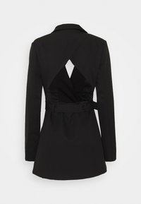 Missguided Tall - COORD TAILORED OPEN BACK BELTED BLAZER - Blazer - black - 1