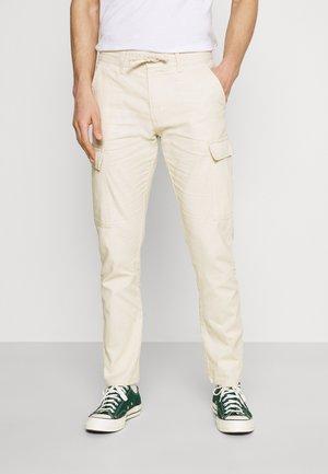 LASSO - Pantaloni cargo - fog
