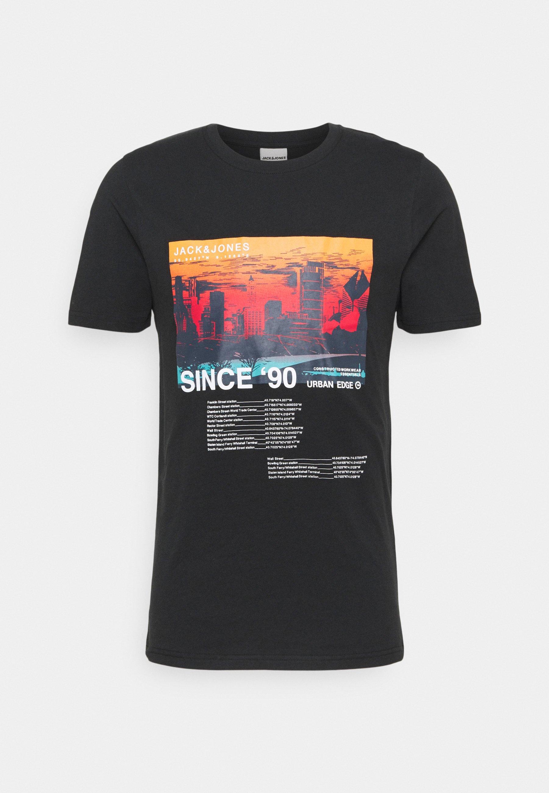 Men JCOBLADE TEE CREW NECK - Print T-shirt
