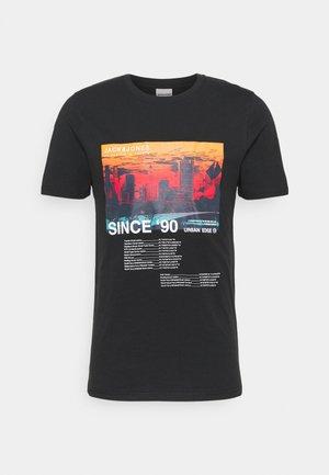JCOBLADE TEE CREW NECK - Print T-shirt - black