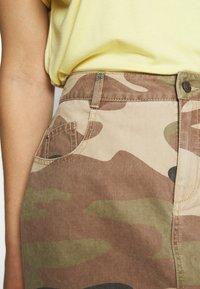 ONLY - ONLFAVOURITE SKIRT  - A-line skirt - kalamata/camo - 4