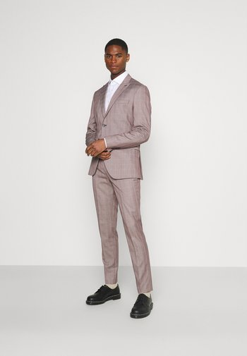 SLHSLIM KNOXLOGAN CHECK SUIT SET