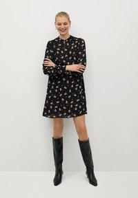 Mango - OSLO - Day dress - schwarz - 1