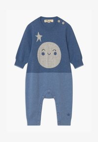 The Bonnie Mob - MOON INTARSIA UNISEX - Jumpsuit - blue - 0