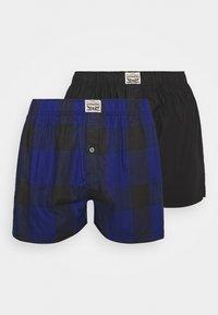 Levi's® - MEN PREMIUM CHECK 2 PACK - Boxer shorts - blue - 3
