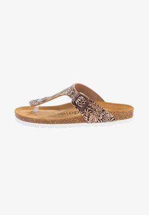 PALADO KOS - T-bar sandals - ornament bronze