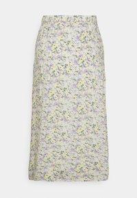 Hollister Co. - A-line skirt - white - 6