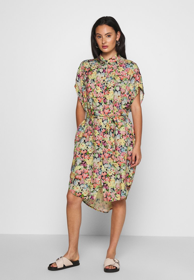 Monki - NINNI DRESS - Skjortekjole - multi coloured