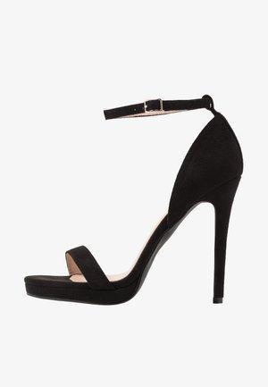 CRESSIDA - Sandaler med høye hæler - black